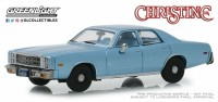"1:43 PLYMOUTH Fury 1977 Blue (машина детектива Рудольфа Дженкинса из к/ф ""Кристина"" 1983)"