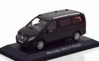 1:43 MERCEDES-BENZ V-Class (W447) 2015 Black