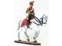 1:32 Австрийская кавалерия.Трубач 7-го уланского полка 1855