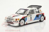 1:18 PEUGEOT 205 T16 Evo 2 #8 B.Saby/Fauchille Rally Monte Carlo 1986