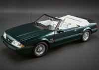 1:18 FORD MUSTANG LX Convertible 1990 Green metallic (производитель GMP)