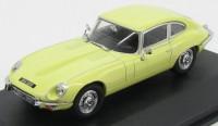 1:43 JAGUAR E-type V12 Coupe 1972 Primrose Yellow