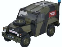 "1:43 Land Rover Series III 1/2 Ton Lightweight Hard Top ""Military Police"" 1972"