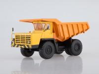 1:43 БЕЛАЗ-540А карьерный самосвал (жёлтый/оранжевый)