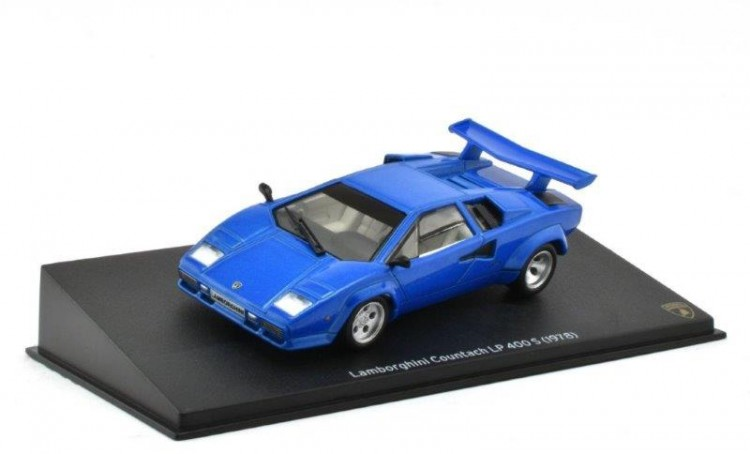 1:43 LAMBORGHINI Countach LP 400 S 1978 Blue