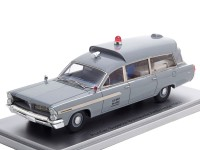 1:43 PONTIAC Superior Bonneville J.F.K Ambulance Medical Department U.S.NAVY 1963