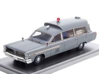 1:43 PONTIAC Superior Bonneville J.F.K Ambulance Medical Department U.S.NAVY 1963
