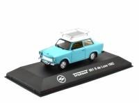 1:43 TRABANT 601 S De Luxe (с багажником) 1982 Blue/White