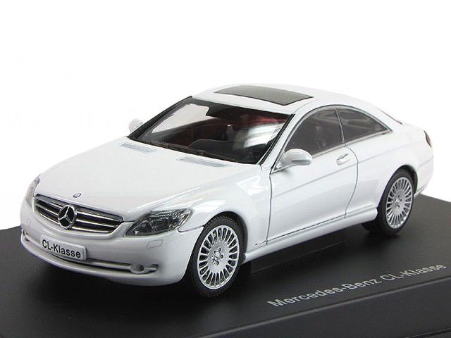 1:43 Mercedes-Benz CL Coupe 500 2006 (white)