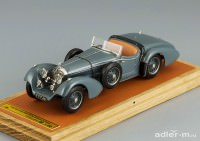 1:43 Mercedes-Benz SS By Erdmann & Rossi, top down, L.e. 50 pcs. (grey)