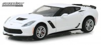 1:24 CHEVROLET Corvette Z06 Coupe 2019 Arctic White
