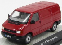 1:43 Volkswagen T4 box van (red)