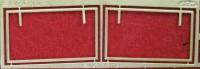 1:43 набор фототравления рамки стекол КРАЗ ССМ