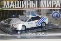 1:43 # 49 Alfa Romeo 156 Полиция Бельгии (журнальная серия)