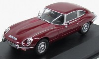 1:43 JAGUAR E-type V12 Coupe 1972 Regency Red
