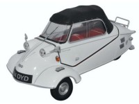 1:18 Messerschmitt KR200 Bubble Car Cabrio 1955 Polar White