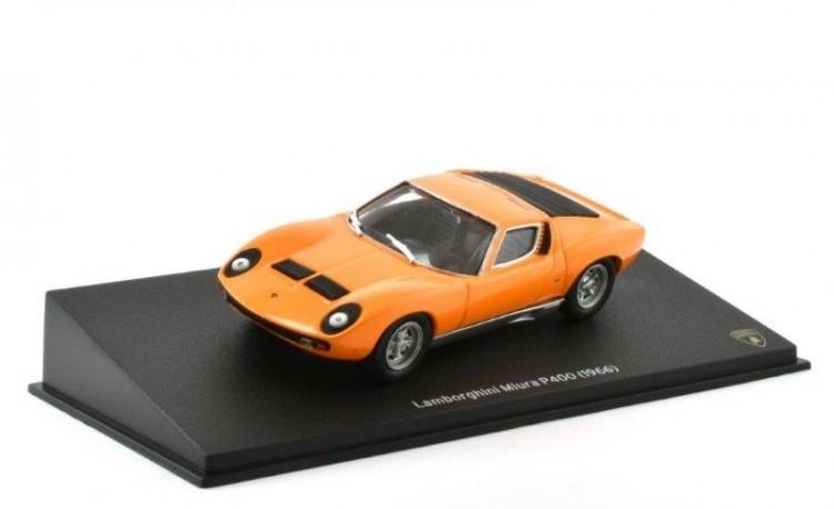 1:43 LAMBORGHINI Miura P400 1966 Orange