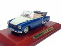 1:43 WARTBURG 311-2 Cabriolet 1958 Blue/Beige
