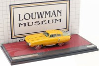 1:43 PEGASO Z102 PS 2.5 Cupola Coupe 1953 Yellow