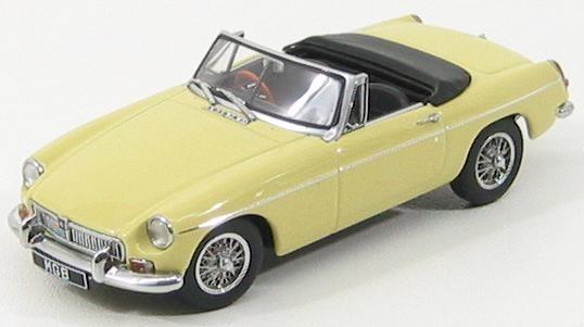 1:43 MG MGB Roadster MKII 1962 (pale primrose yellow)
