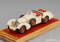 1:43 Mercedes-Benz SS By Erdmann & Rossi, top down + extra seat, L.e. 50 pcs. (biege)