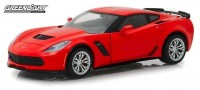 1:24 CHEVROLET Corvette Z06 Coupe 2019 Torch Red