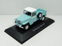 1:43 WILLYS JEEP IKA Baqueano 1000 Pick-Up 1959 Blue/White
