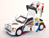 1:18 PEUGEOT 205 T16 #8 Bruno Saby/Fauchille Rally Monte-Carlo 1986
