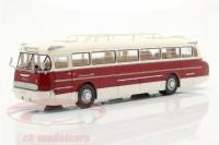 1:43 автобус IKARUS 66 1972 White/Dark Red