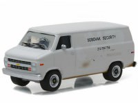 """1:64 CHEVROLET G-20 Van """"Sobchak Security"""" 1985 (из к/ф """"Большой Лебовски"""")"""