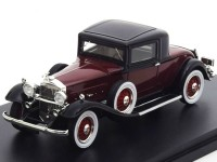1:43 PACKARD 902 Standard Eight Coupe 1932 Dark Red/Black