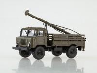 1:43 Бурильная машина БМ-302 (66), хаки